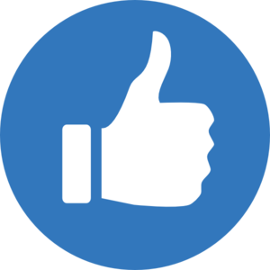 blue thumbs up md