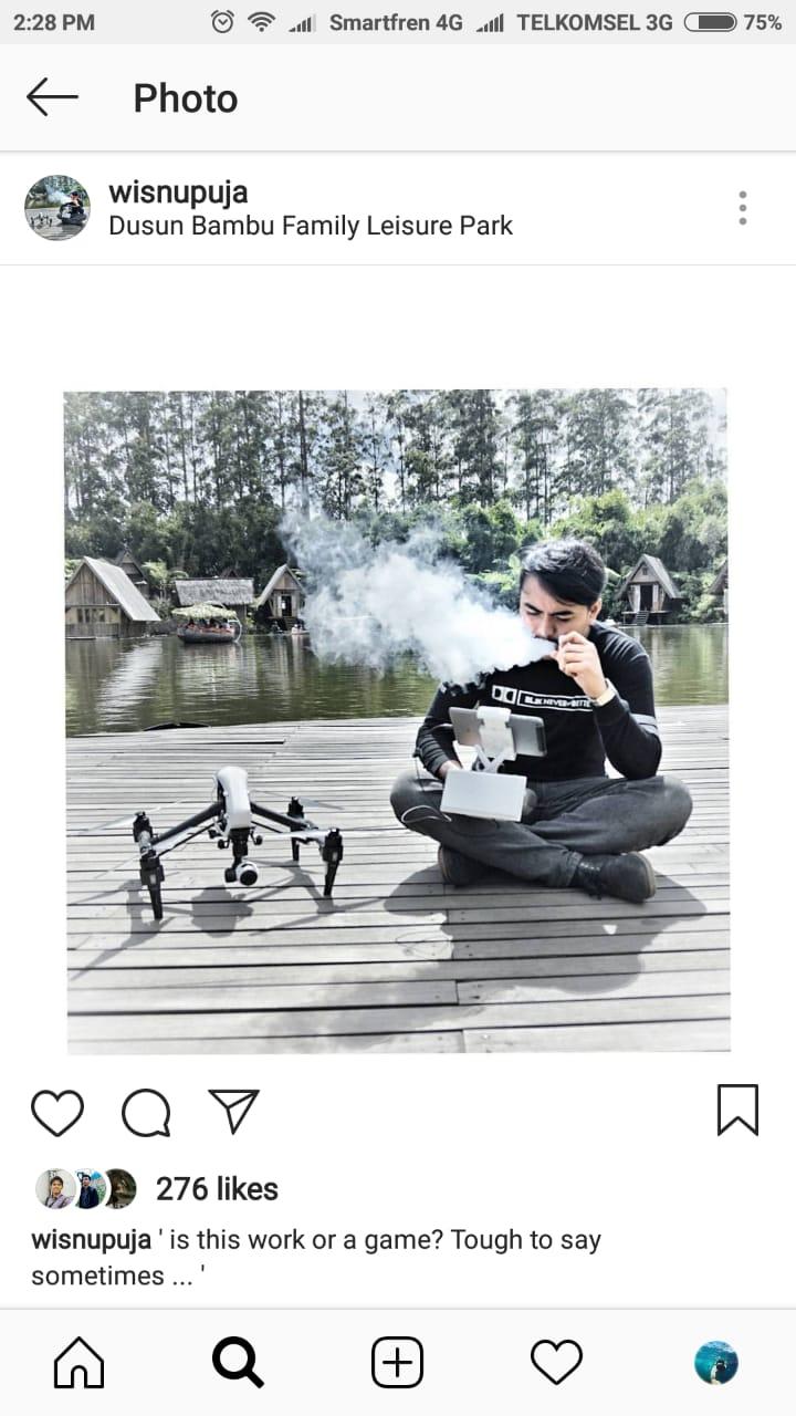 kang puja wisnu photographer